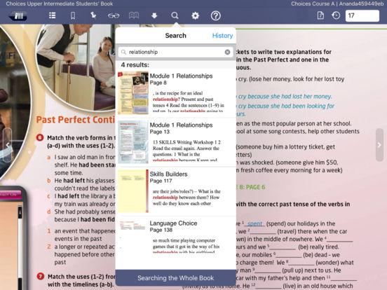 Pearson eText iPad Screenshot 2