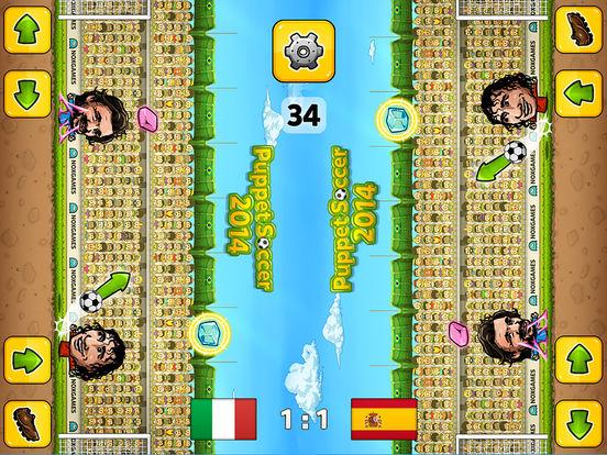 Puppet Soccer 2014 - футбол - Чемпионат мира марионеток Скриншоты10