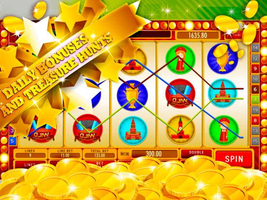 App Shopper: Russian Slot Machine: Be the virtual champion ...