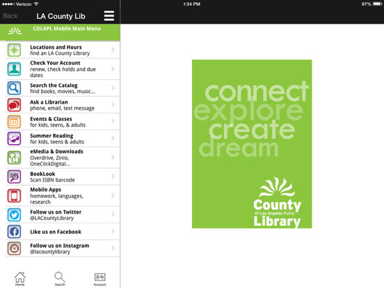 LACountyLib iPad Screenshot 4