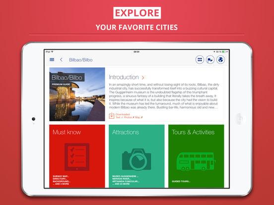 Bilbao City tripwolf Travel Guide iPad Screenshot 1