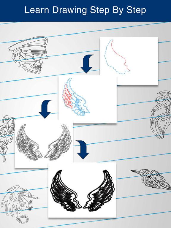 App Shopper: How to Draw 3D Tattoos (Education)