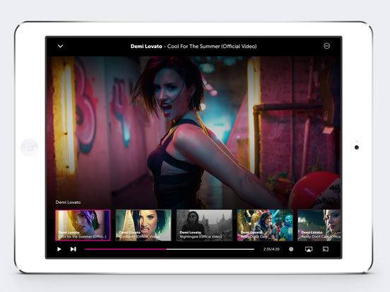 Screenshots of Vevo - Watch HD Music Videos for iPad