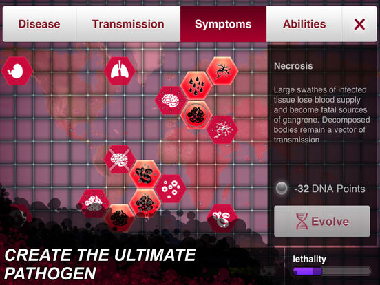 Screenshot #4 for Plague Inc.