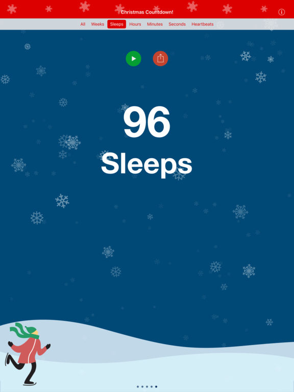 screenshot christmas countdown screenshot