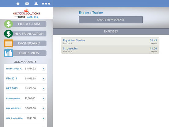 HR Concepts' Mobile Benefits iPad Screenshot 3