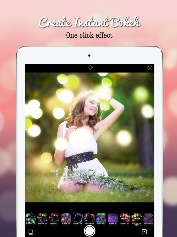 Blur Bokeh - Light Photo Effect Background Screenshots