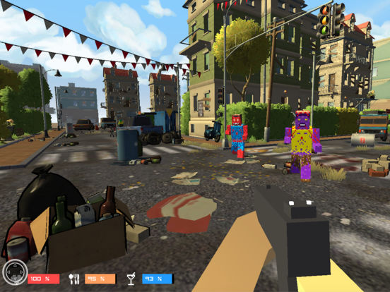 Pixel Zombies Gun 3D Action Game Screenshots