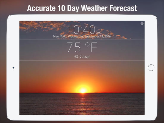 10 Day Weather & NOAA extended hourly forecast + Screenshots