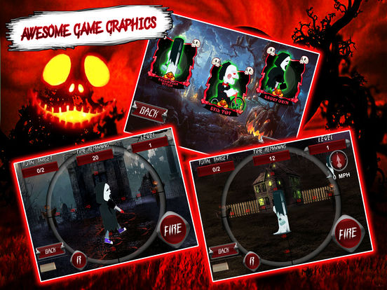 Horror House Angry Grim Shooting Simulator Pro Screenshots