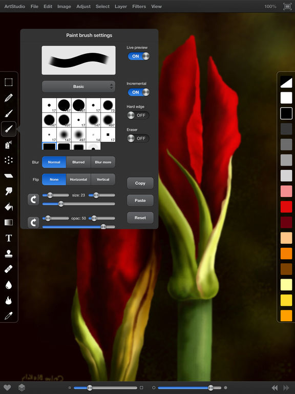 ArtStudio for iPad - draw, paint and edit photo screenshot
