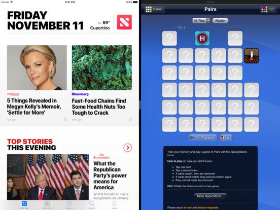 SpeedyMarks Pairs iPad Screenshot 1