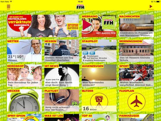 HIT RADIO FFH 2.0 iPad Screenshot 1