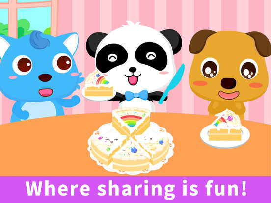 Panda Sharing Adventure—BabyBus Screenshots