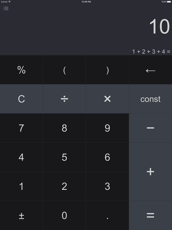 Screenshot #1 for Spark - Smart Calculator and Unit Converter