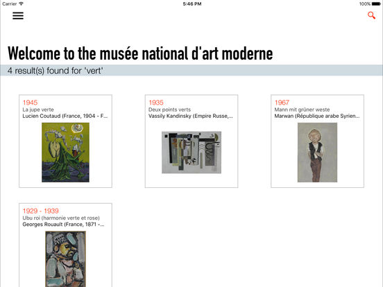 Centre Pompidou iPad Screenshot 4
