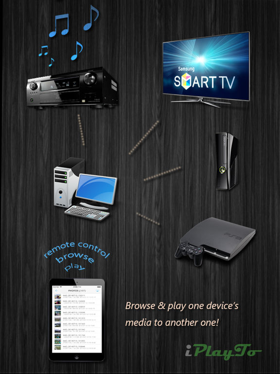 iPlayTo - Play photos, videos and music to TV Screenshots