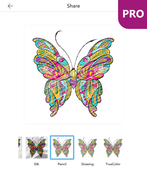 App Shopper Butterfly Coloring Pages For Adults PRO