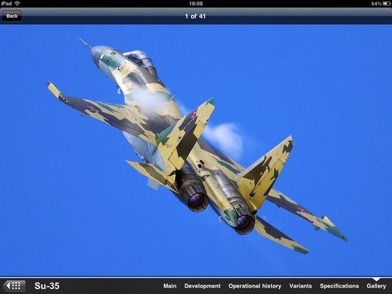 Russian Military Aircraft Appreciate Guide iPad Screenshot 5