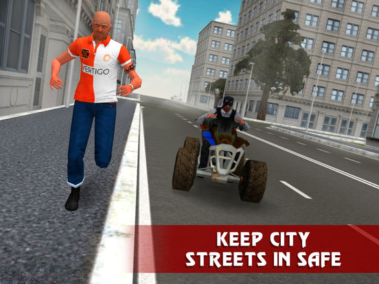 Police ATV Simulator: City Quad Bike Racing Full Screenshots