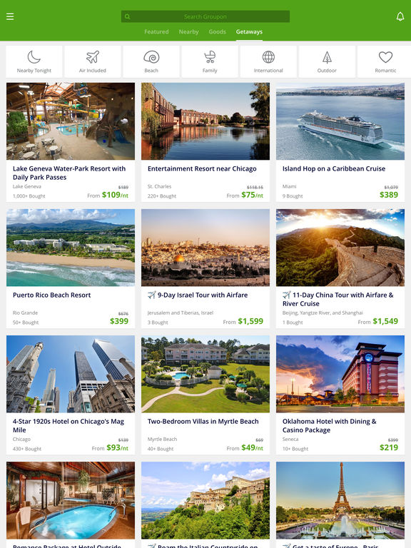 Groupon - Deals, Coupons & Shopping: Discounts on Local Restaurants, Events, Hotels, Yoga & Spas screenshot