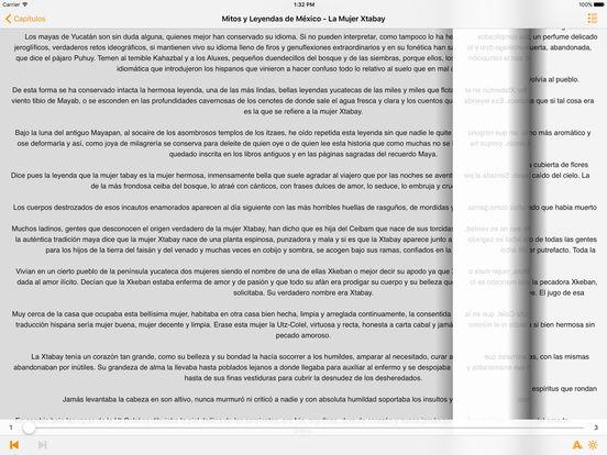 Mitos y Leyendas de México iPad Screenshot 3