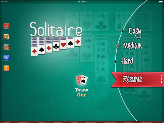 Screenshots of ▻Solitaire for iPad