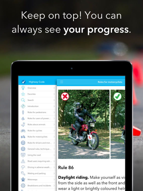 Highway Code UK Screenshots