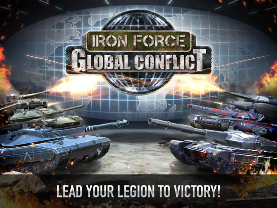 Screenshots of Iron Force for iPad