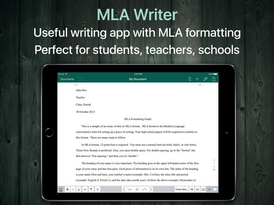 MLA Writer - MLA Style Writing Tool Screenshots