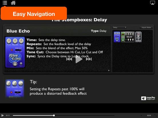 Logic's Guitar Recording Toolbox iPad Screenshot 3