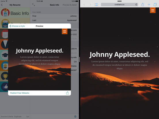 the best iphone apps for resumes apppicker