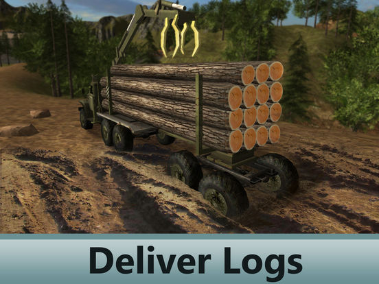 Sawmill Driver Simulator 3D Full screenshot 7