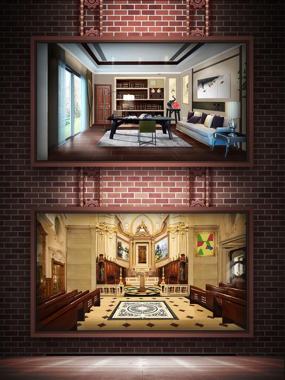App shopper escape room 100 rooms 12 doors and floors for Small room escape 12