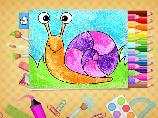 123 Kids Fun COLORING BOOK Educational Color Games Screenshots
