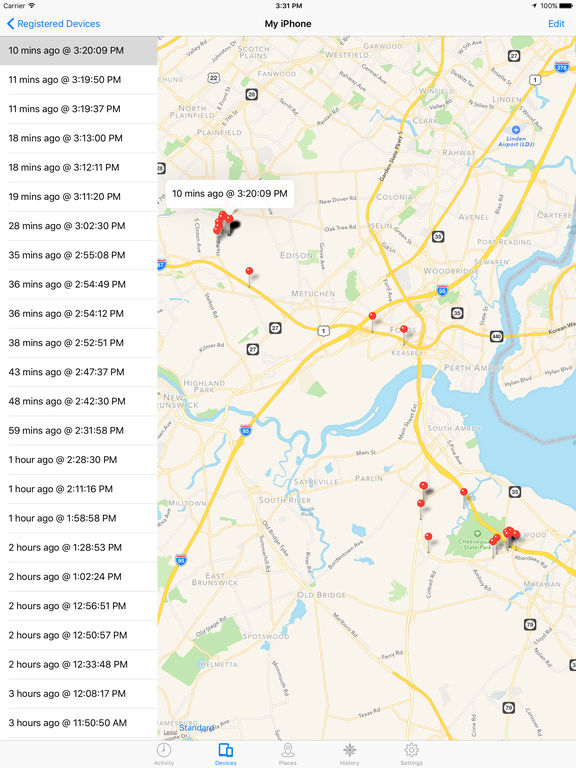 Device Locator: Track and Locate Your Lost or Stolen iPhone plus Google Latitude Integration screenshot 7