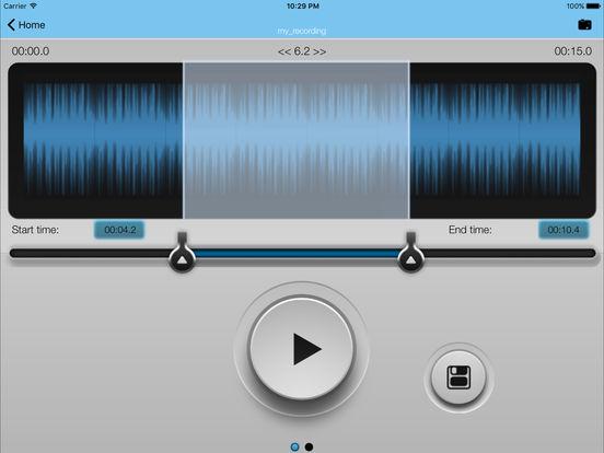MP3 2 Ringtone GOLD iPad Screenshot 2