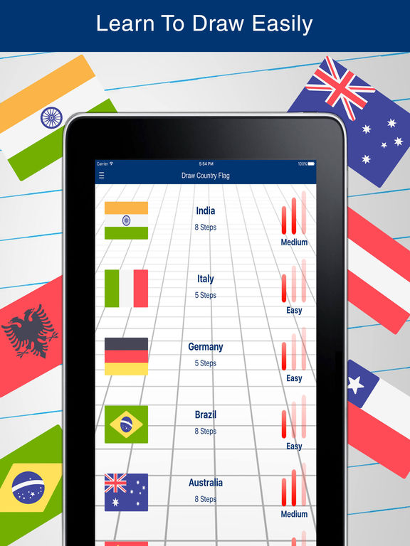 App Shopper: How to Draw Country Flags (Education)