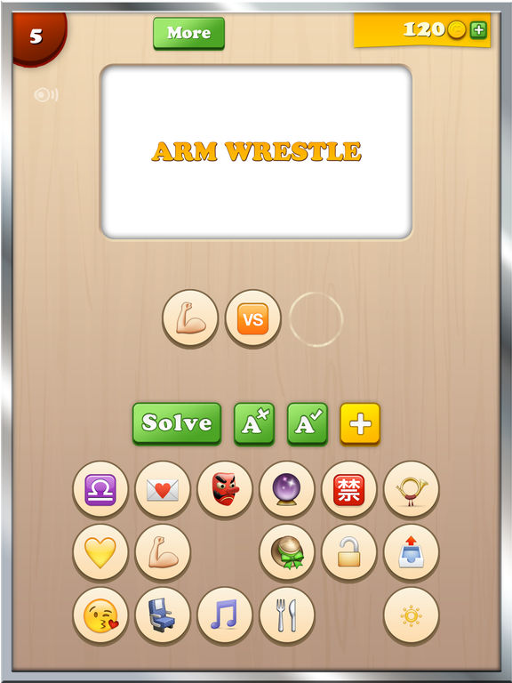 Screenshots of Find the Emoji - New Free Animated Emojis Icons & Extra Emoticons Keyboard Art Guess Game App 2 for iPad
