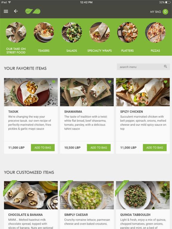 App shopper zaatar w zeit food drink for M kitchen harbison sc menu