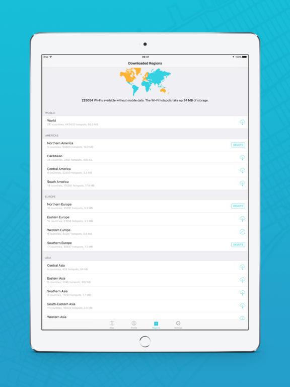 Instabridge - Free WiFi Passwords and Hotspots screenshot