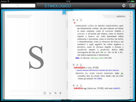 l'Etimologico iPad Screenshot 2