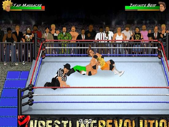 Игра Wrestling Revolution HD