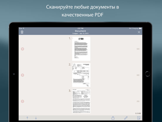 Турбоскан: быстрый сканер документов и чеков для iPad