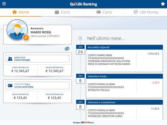 Qui UBI iPad Screenshot 1