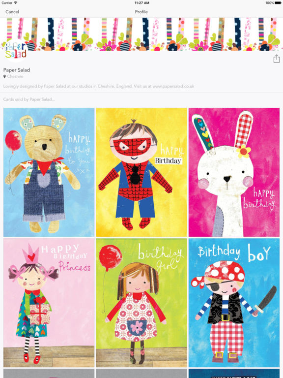 thortful allows iOS and Android users to send Beautiful Greeting Cards Image