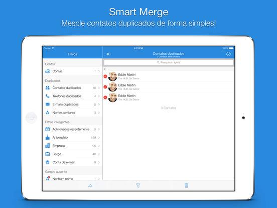 Smart Merge Pro - Exclua contatos duplicados Screenshot