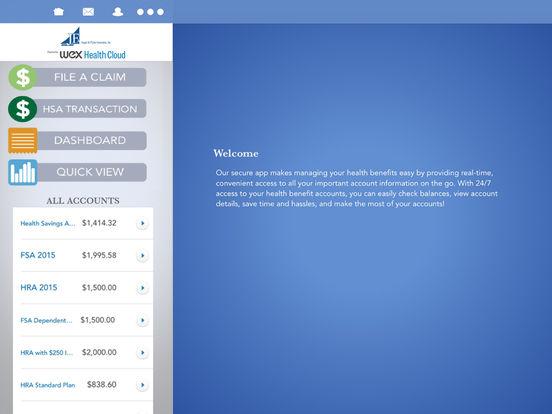 JFAFlex Mobile iPad Screenshot 1
