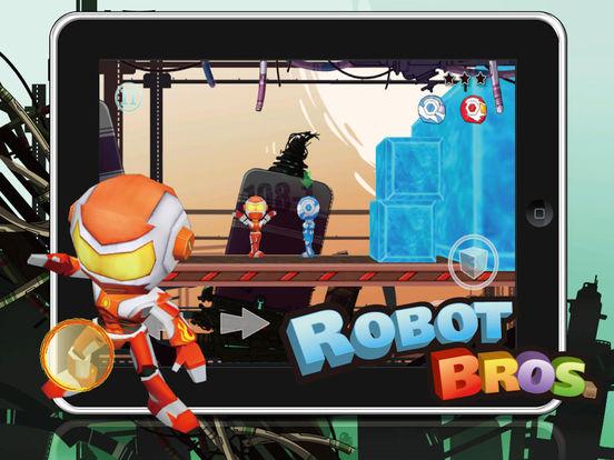 Robot Bros Free screenshot
