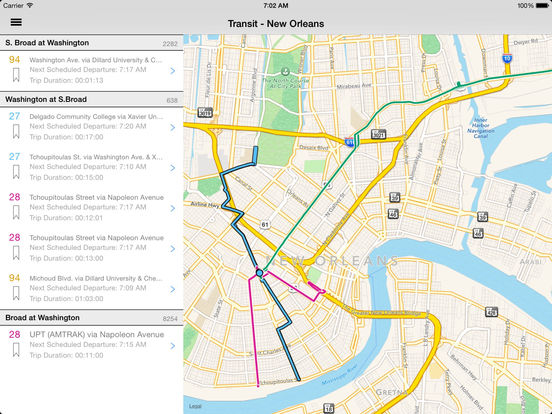 New Orleans Bus Map  Wwwimgarcade  Online Image Arcade